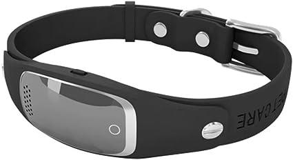 Amazon Com Petcare Design Dog Gps Tracker Collar Black Pet Supplies