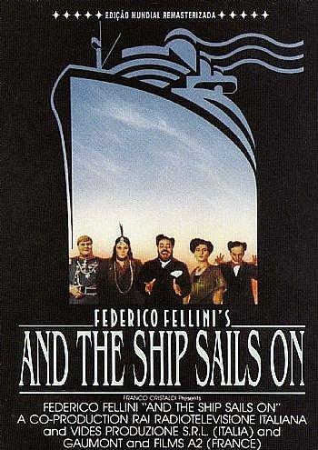 Amazon.com: And the Ship Sails On, the Ship Sails On, and the Ship Sails  On's Federico Fellini, E La Nave Va, E La Nave Va Di Federico Fellini, Y La  Nave Va,