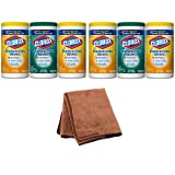 armorall refill - Clorox Disinfecting Wipes Value Pack, Fresh Scent and Citrus Blend, 225 Count (Packaging May Vary), 2-Pack with Cleaning Cloth