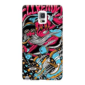 CassidyMunro Sumsang Galaxy S6 Shock Absorbent Hard Phone Case Customized Trendy Muse Series [Ldv1824xqWb]