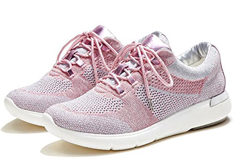 Scarpe rosa Indoor Donna LFEU rosso Sportive zdqqC
