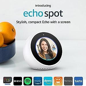 Introducing Amazon Echo Spot - White