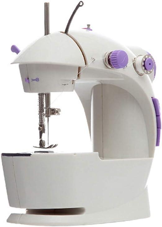Furniture Mini Máquina de Coser Doméstica, Uso Nocturno Dos ...