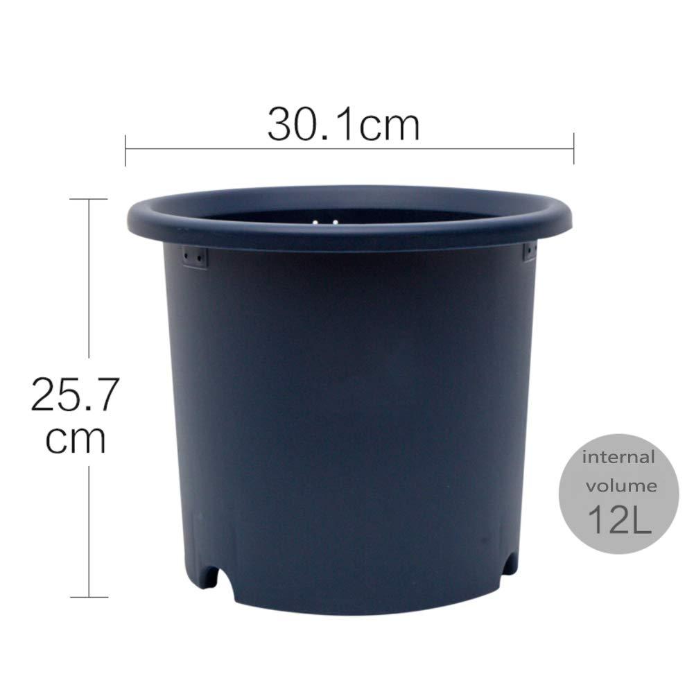 colore Tipo di Profonda Vaso di Fiori Resina Vaso di Fiori Plastica Carnoso Vaso di Fiori-R 12L