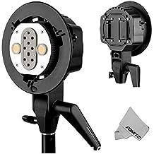 Fomito Godox AD200 Dual Power Flash Head S-type Double Lamp Holder