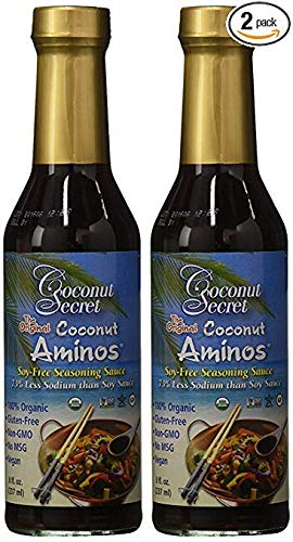 Sauce Organic Asian (Coconut Secret Coconut Aminos Sauce Organic 8 oz (2 Pack))