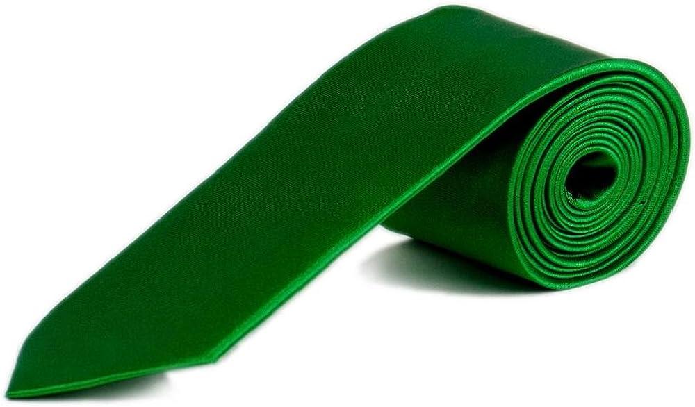 Monkey business dos /étroit 5 cm-slim-tie-uni dans diff/érentes couleurs