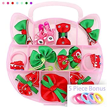 Amazon.com   Christmas Hair Accessories for Girls bce24dd49dc