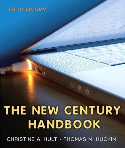 Read Online The New Century Handbook By Hult & Huckin (5th, Fifth Edition) pdf