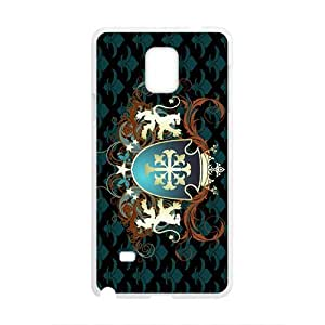 Happy Grid Badge Custom Protective Hard Phone Cae For Samsung Galaxy Note4