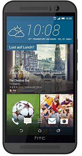 HTC One 9, Smartphone Vodafone Entriegelt (5 Zoll), 32 GB, Android Lollipop 5.0),Grau