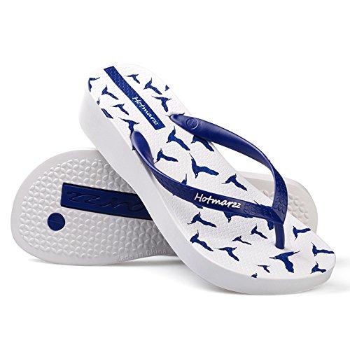 antideslizantes antideslizantes de de de moda verano CN37 Tamaño planas interiores Zapatillas femeninas UK4 5 Sandalias playa EU37 4 Zapatos 0Bwdt0