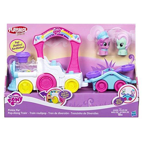 Brinquedo Pré Escolar Playskool Trenzinho da Pinkie Pie My Little Pony Hasbro