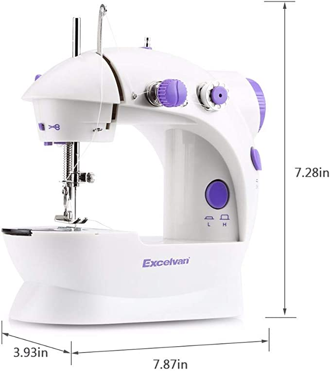 LSHUNYDE Máquina de coser portátil máquina de coser, Overlock ...