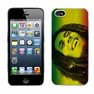 Bob Marley cas adapte iphone 5 couverture coque rigide de protection (9) case pour la apple i phone reggae