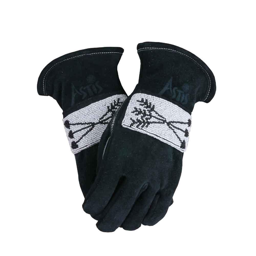 Astis Gangkhar Puensum Chhish Glove (Black,L) by Astis