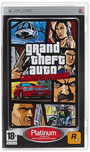 Grand Theft Auto Liberty City Stories (Games Charger Psp)