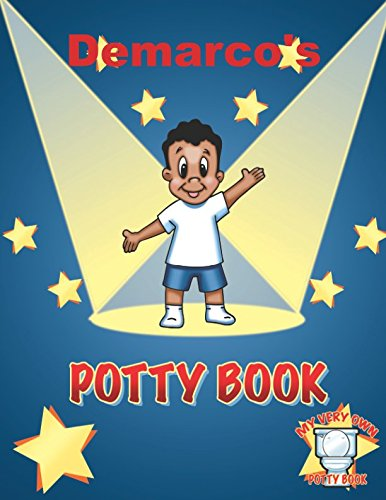 Search : Demarco's Potty Book: African American Boy with Black Hair