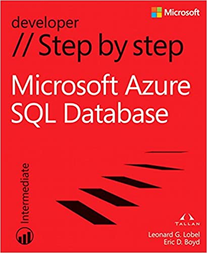 microsoft azure sql database step by step step by step developer 1st edition