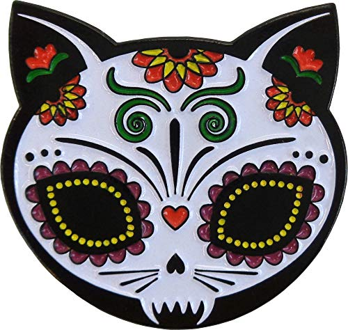 (Evilkid, Gato Muerto, Officially Licensed Original Artwork, Expertly Designed ENAMEL PIN - 1.25
