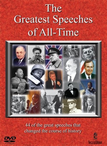 DVD : Greatest Speeches of All Time - The Greatest Speeches of All-Time Box Set (DVD)