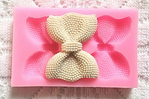 Kentop Molde de Silicona con Formas de 2 Nudo de Corbata Molde de ...