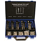 HHIP 1011-0055 Coarse Pitch 132 Piece Helical S.T.I. Master Thread Repair Kit