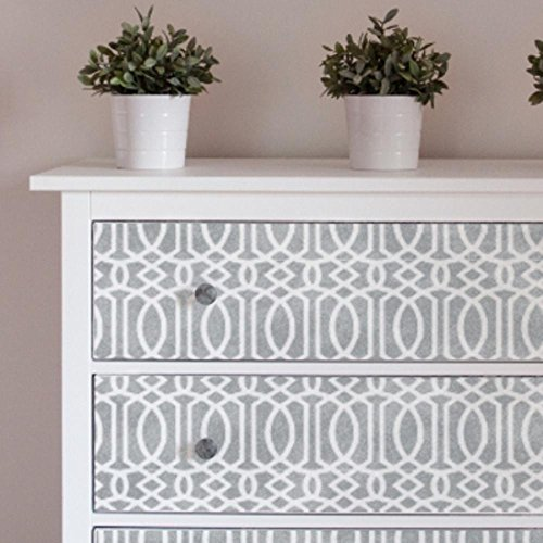 MOROCCAN TRELLIS Furniture Wall Floor Stencil for Painting - Furniture Medium
