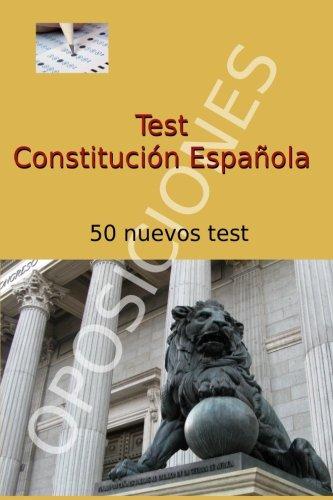 Test de Constitución Española: 50 nuevos test (Spanish Edition) pdf epub