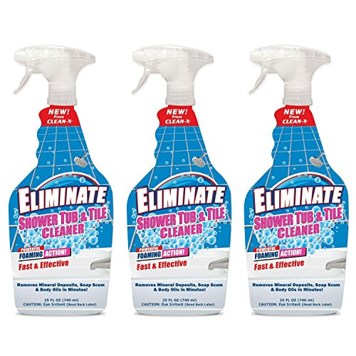 (Eliminate® Shower Tub & Tile Cleaner - 25 oz. - 3 Pack by)