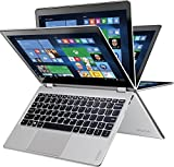 Lenovo Y 710-11ISK 11.6-Inch FHD Touch Laptop (Pentium 4405Y, 4 GB Ram, 128 GB SSD, Windows 10), Silver