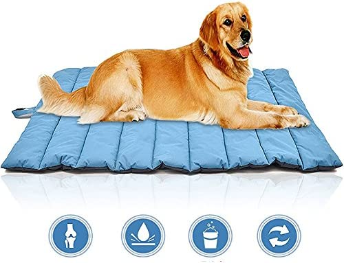 GUORZOM Outdoor Hundematte Wasserdichte Pet Bett Tragbare Pet House Weichen Bequemen Hundebetten Für Große Hunde Nicht Sticky Haar Kennel