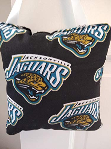 Tooth fairy Pillow NFL Jaguars with pocket for money, Girl or boy. Teeth Chart included. Kids