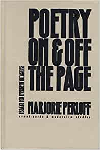Poetry on & off the page essays for emergent occasions
