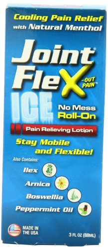 JointFlex arthrite Pain Relief Ice Roll-On, 3 once