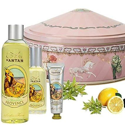 Caja Regalo Belleza Provence Mujer, 1 Colonia 55ml, 1 Gel de Ducha Hidratante 250ml