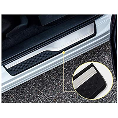 CRV Interior Accessories,CRV Door Sill Guard Scuff Plate,CRV Car Door Entry Guards Cover Protector Threshold,Prevent the Threshold from Scratching: Automotive