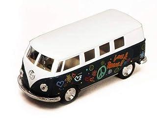 ToySmith 1962 Volkswagon Micro Bus Beetle Die-Cast Collectable VW Van -Green