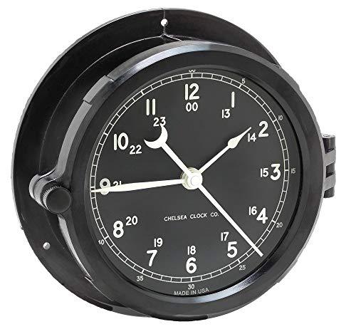 - Chelsea Clock Patriot Deck Clock, 8.5