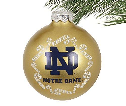 Amazon.com : Boelter NCAA Candy Cane Traditional Glass Ball Christmas  Ornament- 2 5/8