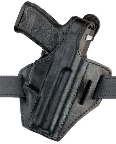 Safariland 328 Pancake Style Concealment Holster, Black Plain Right Hand 328-283-61