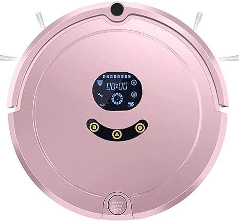 WYGC CLEANER Robot Aspirador Inteligente Autocarga Succión de Gran Alcance Super Tranquilo App Control Sensor Anti-caída y Colisión para Alfombra, Suelo Duro (Color : Pink): Amazon.es: Deportes y aire libre