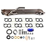 ECCPP Upgraded EGR Cooler Kit Gaskets for 2014-2010 Ford E-350 Super Duty Diesel 6.0L
