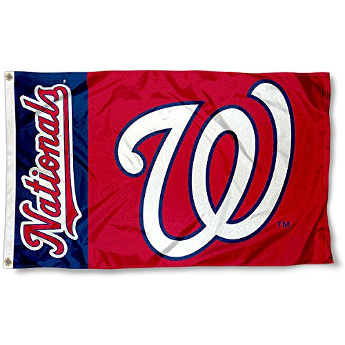 WinCraft Washington Nationals Flag 3x5 MLB Banner