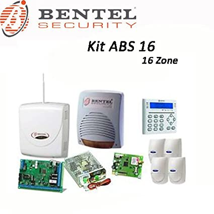 Bentel - Kit de alarma con 16 zonas de detección, completo y ...