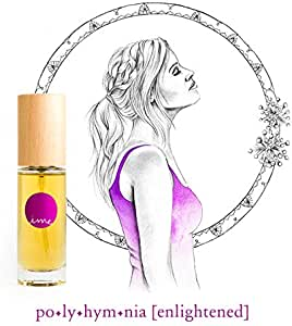 IME 100% Natural Perfume - polyhymnia [enlightened] Green Floral Scent - feel clear, capable, enlightened. Certified Toxin & Cruelty Free. 30ml EDP