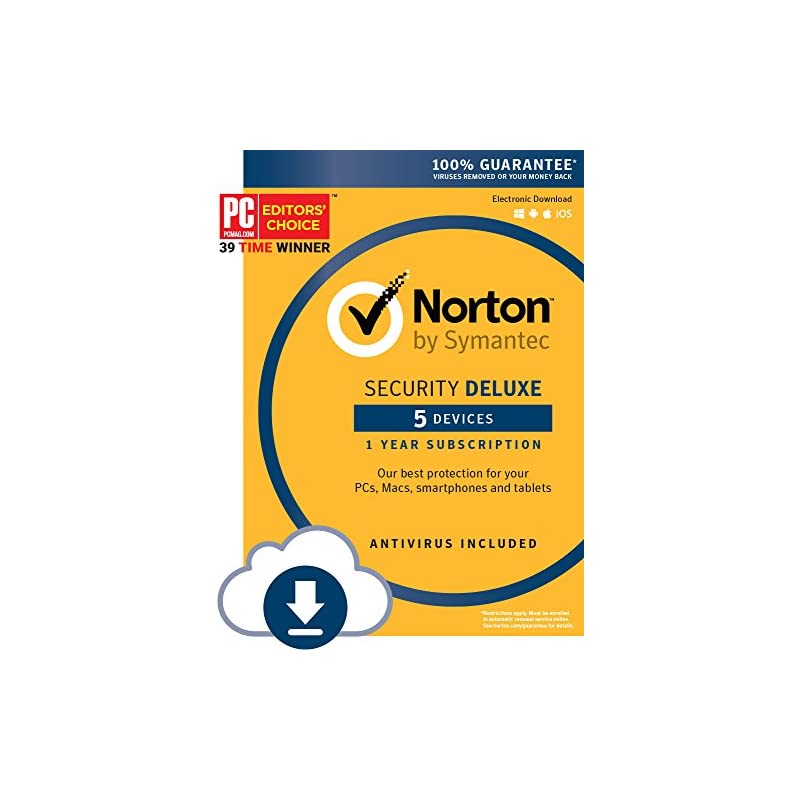 Norton Security Deluxe - 5 Device [Downl