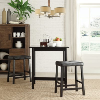 Alta Bistro Table, 2 Chairs Set