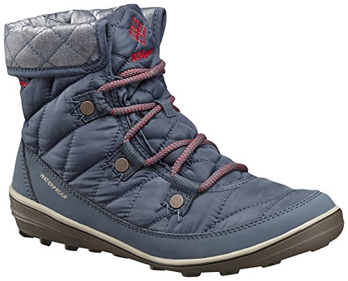 Columbia Womens Heavenly Shorty Omni-Heat Organza Lace Up Waterproof Textile Snow Boots