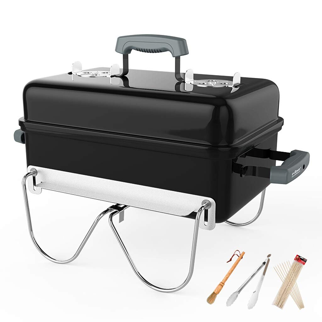 MEI XU Barbecue Grill BBQ Grill - Outdoor Portable Charcoal Oven Household Folding Carbon Barbecue Stove Grill